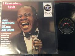 JAZZ! Луи Армстронг /Louis Armstrong - I Remember. . . Louis - UK LP
