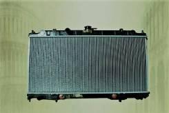 Радиатор охлаждения двигателя. Nissan: Wingroad, Bluebird Sylphy, Primera, AD, Pulsar, Almera, Sunny Двигатели: QG13DE, QG15DE, QG18DE, QG18DEN, QG16D...
