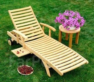 Деревянная мебель для сада из эвкалипта