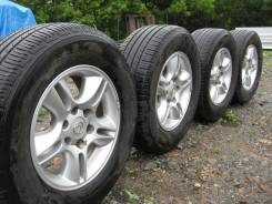 """Колеса R17 Lexus GX470+ Michelin Premier LTX 265/65 R17. 7.5x17"""" 6x139.70 ET25 ЦО 106,2мм."""