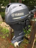 Yamaha. 40,00л.с., 4-тактный, бензиновый, нога L (508 мм), 2014 год год