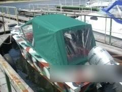 Пошив тента ходового для лодки «Прогресс»