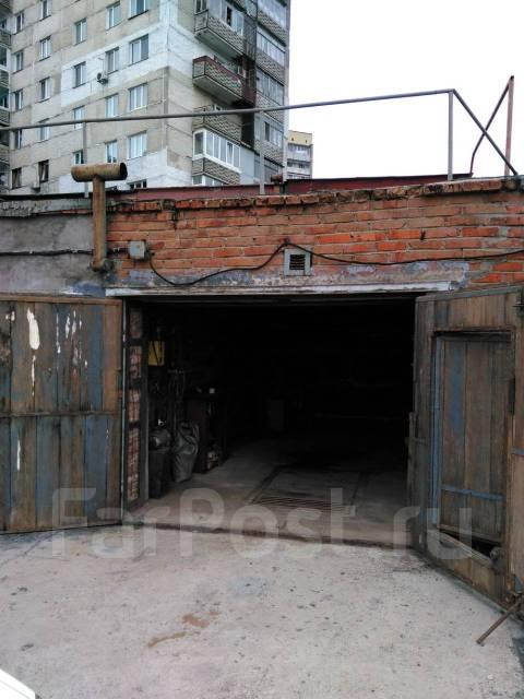 Гаражи капитальные. улица Промышленная 2-я 2, р-н Трудовая, 39кв.м., электричество, подвал. Вид снаружи