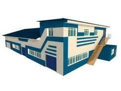 Участок 0,7 Га, Здание 790 кв. м. Офис 100 +производство+склады. 7 000кв.м., собственность, аренда, электричество, вода