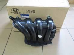 Коллектор впускной. Kia Rio, FB, QB Kia Venga Hyundai ix20 Hyundai Solaris Двигатели: G4FA, G4FC, G4LC