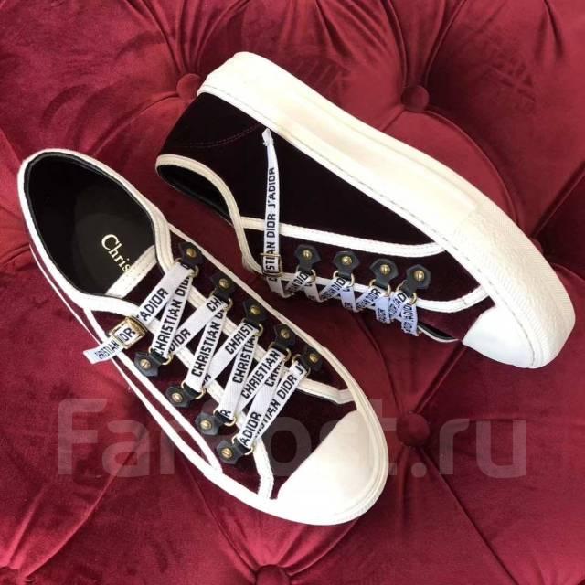 7a2502bc17f0 Крутые кроссовки DIOR LUXE, копия оригинала 1 1(ААА)! Модель года во  Владивостоке