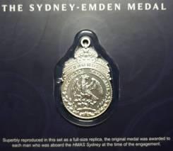 Медаль The Sydney - Emden Первая Мировая Война Австралия