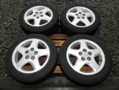 """Колеса штатные Nissan Skyline ECR33 RB25DET Bridgestone 205/55 R16. 6.5x16"""" 5x114.30 ET40"""