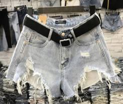 Шорты джинсовые. 42, 44, 46