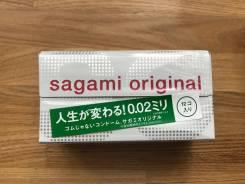 Презервативы Sagami 0,02mm. Полиуретановые ультратонкие 12шт