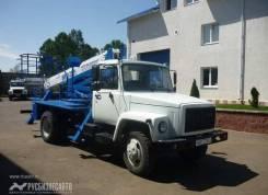 Випо-22. Автогидроподъемник ВИПО-22-01 на базе ГАЗ-33098, 4 750куб. см., 22,00м.