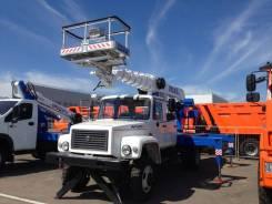 Випо-24. Автогидроподъемник ВИПО-24-01 на базе ГАЗ-33086 ( 2-х рядная кабина), 4 750куб. см., 24,00м.