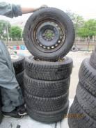 "Комплект резины с дисками 21565R16 Nissan X-Trail. Зимние. x16"""