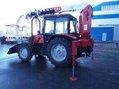 МТЗ 92П. Кран-манипулятор тракторный «Двина» на базовом шасси , 4 750куб. см., 9м.