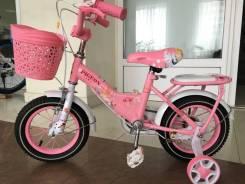 Велосипед детский для девочки, 12 колёса Скидка!
