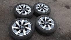 """Клевые колеса от Subaru Levorg. 7.0x17"""" 5x114.30 ET55 ЦО 58,0мм."""