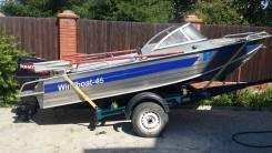 Windboat. 2012 год год, длина 4,60м., двигатель подвесной, 50,00л.с., бензин