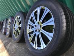 """Японские хром-диски Beo R17 5*100+лето Bridgestone 225/55/17. 7.0x17"""" 5x100.00 ET49 ЦО 73,0мм."""