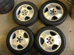 "205/55R16 Bridgestone на литье SAAB 4 шт (16539). 6.5x16"" 5x110.00 ET49"