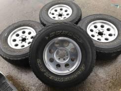 """31/10.5R15 Dunlop A/T на литье Thompson 4 шт (15528). 8.0x15"""" 6x114.30 ET20"""