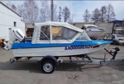 Крым. 1986 год год, длина 4,50м., двигатель подвесной, 30,00л.с., бензин