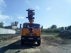 Галичанин КС-55713-4. Продаётся автокран галичанин 2010г.25тн высота подъёма 21,7м 6x6 4500м, 10 850куб. см., 25 000кг., 21м.