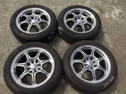 "185/55 R15 Bridgestone Potenza RE040 литые диски 4х100 (L22-1508). 6.5x15"" 4x100.00, 4x114.30 ET40"