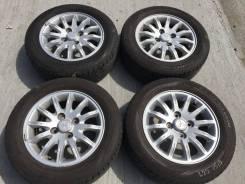 """195/60 R15 Bridgestone Ecopia EX10 литые диски 4х100 (L22-1513). 6.0x15"""" 4x114.30 ET46"""