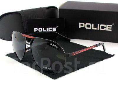 Всеми любимые поляризационные очки Police! С красными дужками ... 2a53d3591e342