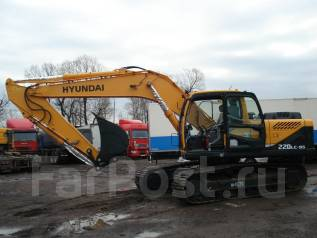 Hyundai R220LC-9S. Экскаватор Hyundai 220*
