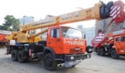 Галичанин КС-55713-1В-4. Продам КС 55713-1В автокран 25т. (Камаз-65115) ЕВРО-4, 25 000кг., 28,00м.