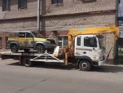 Эвакуатор с краном в Томске АвтоБосс