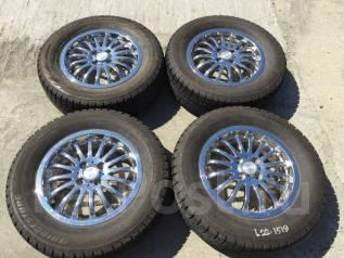 "205/65 R15 Bridgestone Revo GZ литые диски 4х100 (L22-1519). 5.0x15"" 4x100.00 ET45"