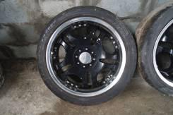 """Комплект колёс Lowenhart на остатках летней резины. 7.5x18"""" 5x114.30 ET49"""
