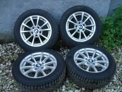 """Оригинальные колеса BMW стиль 390 F30 с зимн. шипов. шинами Nokian H-7. x16"""""""