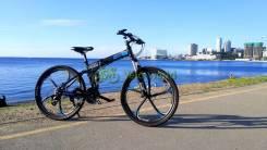 """26"""" Складной алюминиевый велосипед Bull iRide"""