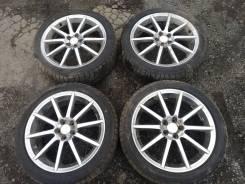 "215/45R18 Subaru GT-Spec B 18 "" 7,0J + 55, 5x100 зима Bridgestone VRX. 7.0x18"" 5x100.00 ET55 ЦО 56,1мм."