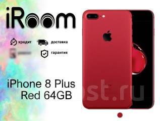 Apple iPhone 8 Plus. Новый, 64 Гб, Красный, 3G, 4G LTE, Защищенный