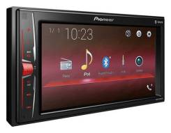 Автомагнитола Pioneer MVH-A200VBT/USB/MP3/iPod про/Блютуз/2DIN