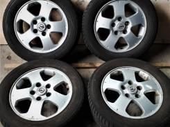 """Toyo Tranpath mpZ 195/60R15 + Литьё Nissan 5x114.3. 5.5x15"""" 5x114.30 ET45 ЦО 65,0мм."""