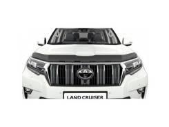 Дефлектор капота. Toyota Land Cruiser Prado, GDJ150, GDJ150L, GDJ150W, GDJ151W, GRJ150, GRJ150L, GRJ150W, KDJ150, KDJ150L, LJ150, TRJ150, TRJ150L, TRJ...