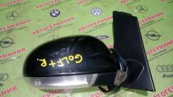 Зеркало заднего вида боковое. Volkswagen Golf Plus, 5M1 Двигатели: BSF, CMXA, BSE, CCSA, BKC, CBZB, CAXA, AXW, BMM, BVY, BVX, BVZ, BLS, BLR, CGGA, BXE...