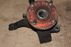 Ступица. Nissan: Cube, Tiida Latio, March, Latio, Tiida, Note Двигатели: CR14DE, HR15DE, CR10DE, CR12DE, HR16DE