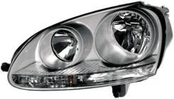Фара. Volkswagen Jetta, 1K2 Двигатели: BKC, BKD, BLR, BLS, BLX, BLY, BMY, BSE, BSF, BVY, BVZ, BXE, CBDB, CJAA