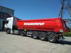 Kassbohrer. Самосвальный полуприцеп DL 32 м3, 31 000кг.