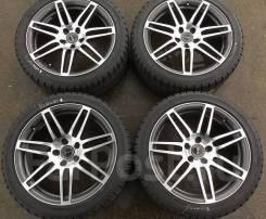 """Зимние колеса Bridgestone 245/40 R18 литье WSP Italy. 8.0x18"""" 5x112.00 ET45 ЦО 66,6мм."""