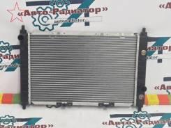 Радиатор охлаждения двигателя. Daewoo Matiz, KLYA
