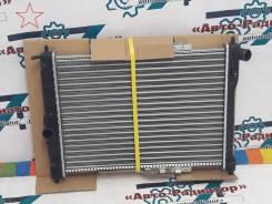Радиатор охлаждения двигателя. Chevrolet Lanos Chevrolet Nubira Daewoo Sens Daewoo Lanos ЗАЗ Шанс Двигатели: L13, L43, L44, LV8, LX6, L76, L84, L88