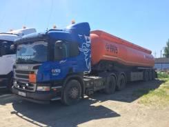 Scania P400. Продаю бензовоз тягач Скания с полуприцепом-цистерной, 12 740куб. см., 30 000кг.
