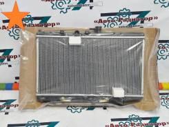 Радиатор охлаждения двигателя. Kia Rio Двигатель D4BB